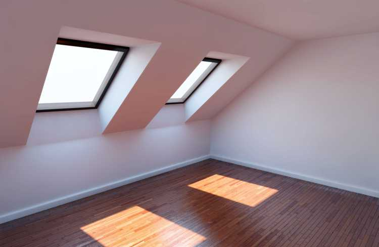 Straightforward loft conversion with dormer window and wooden floor