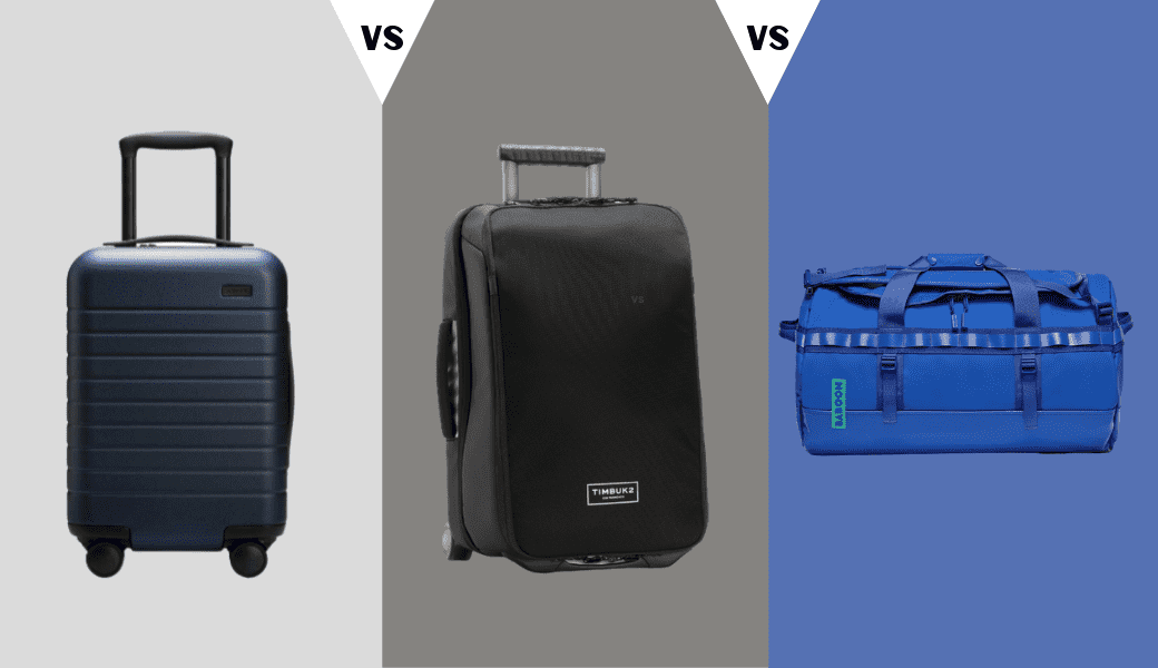 Luggage For Any Trip:, Away, Timbuk2 & Baboon To The Moon, Reviewed cover image