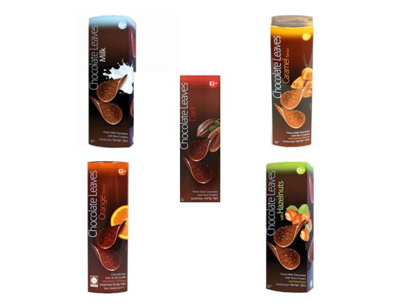 Gross Chocolate Leaves Range (100g)