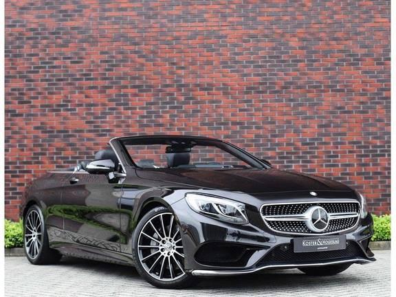 Mercedes-Benz S-Klasse Cabrio 500 *Designo*AMG*Airscarf*Full option*