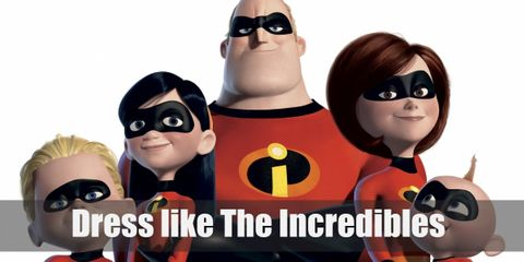 Dress Like The Incredibles Family Costume