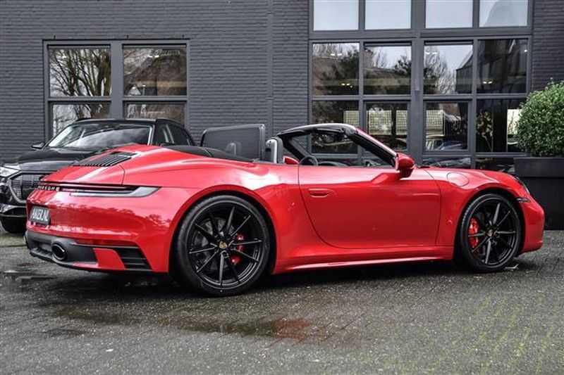 Porsche 911 4S CABRIO SPORTDESIGN+4WSTURING+SPORTCHRONO afbeelding 22