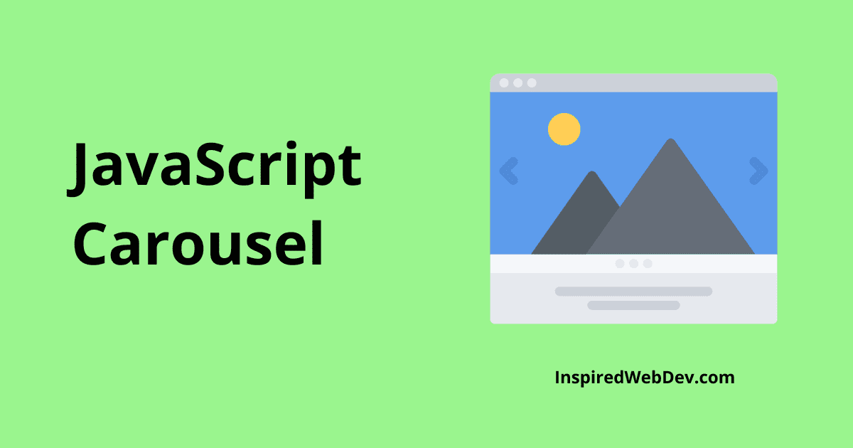 Tutorial - Create a Carousel with JavaScript
