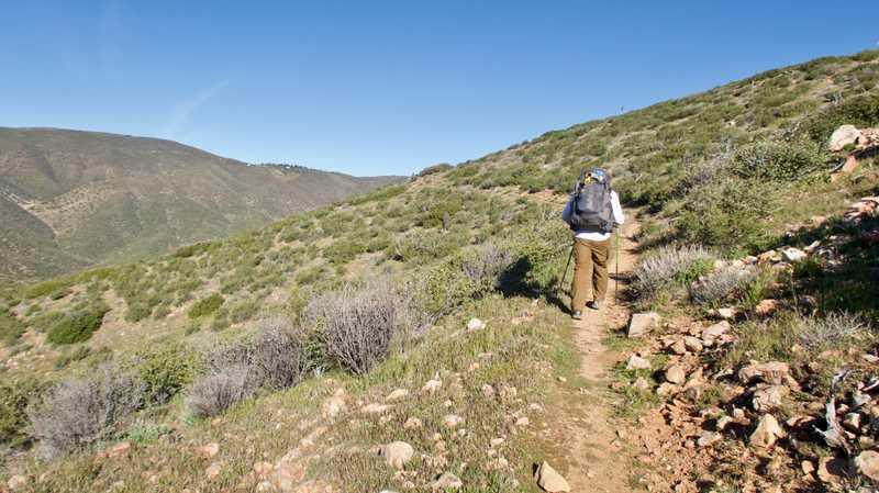 On a climb with Hootenanny