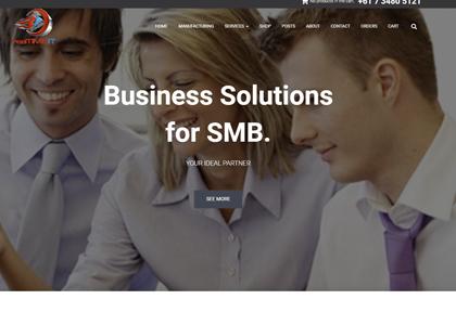 realTime IT Website Screenshot