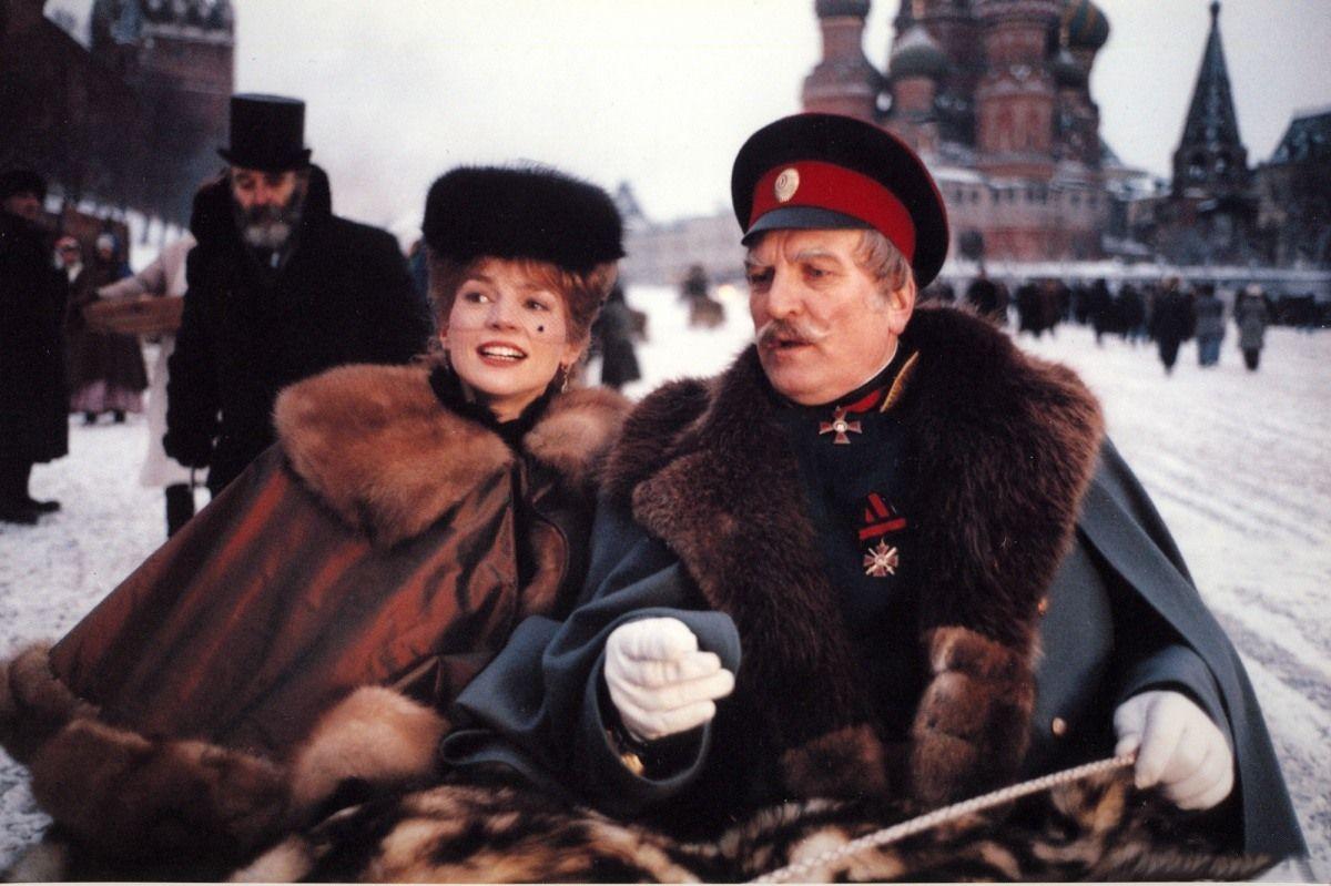 Кадр из фильма Никиты Михалкова «Сибирский цирюльник»