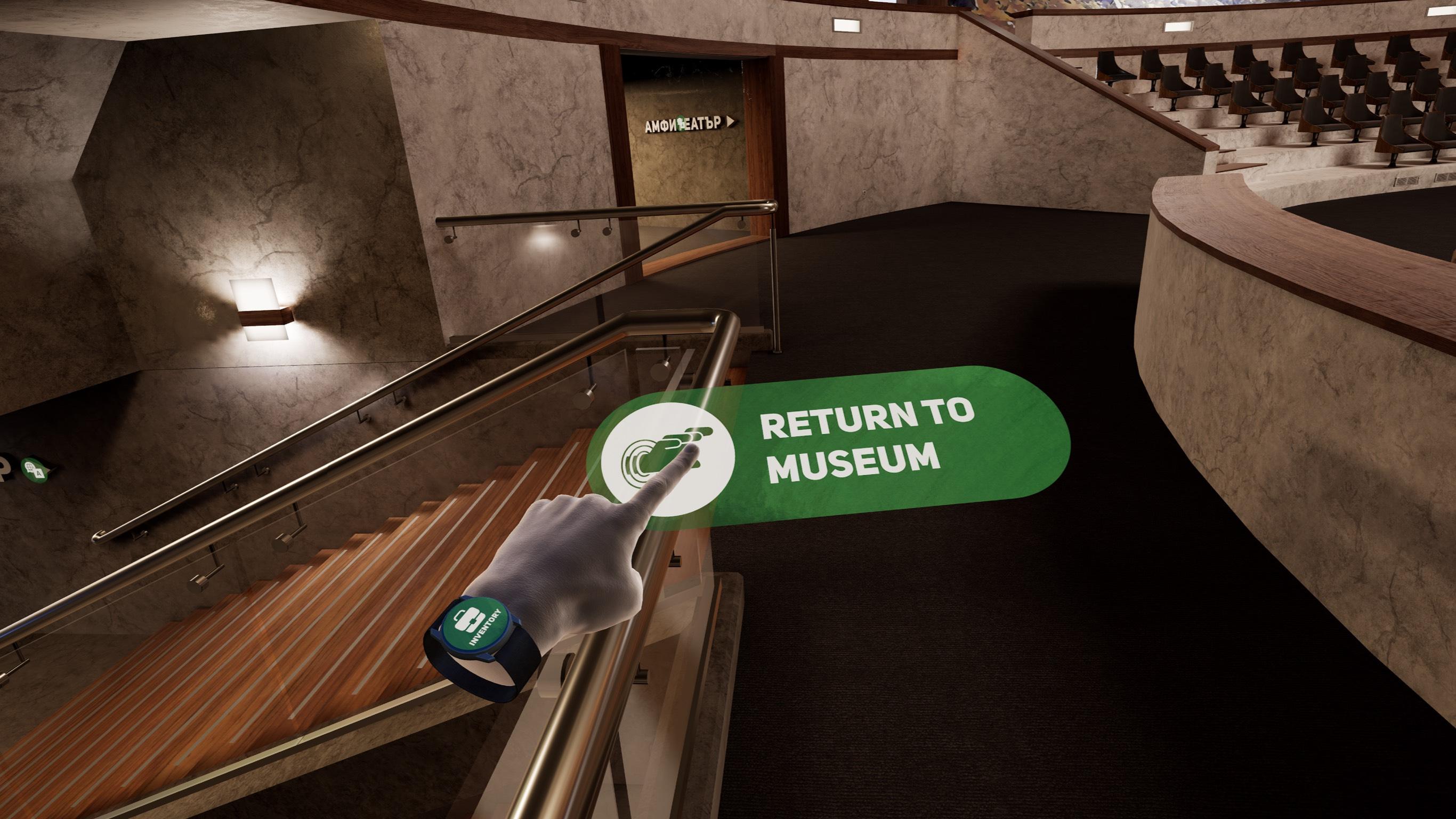Buzludzha VR Museum Interaction