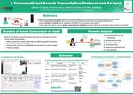 A Conversational Search Transcription Protocol and Analysis