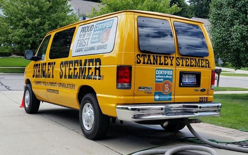 Stanley steemer van thumb