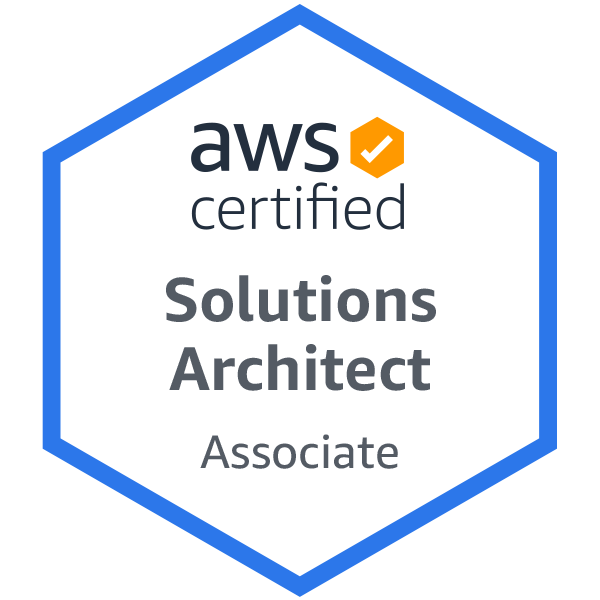 AWS Solutions Architect Associate Badge