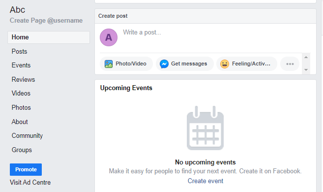 Page tabs facebook