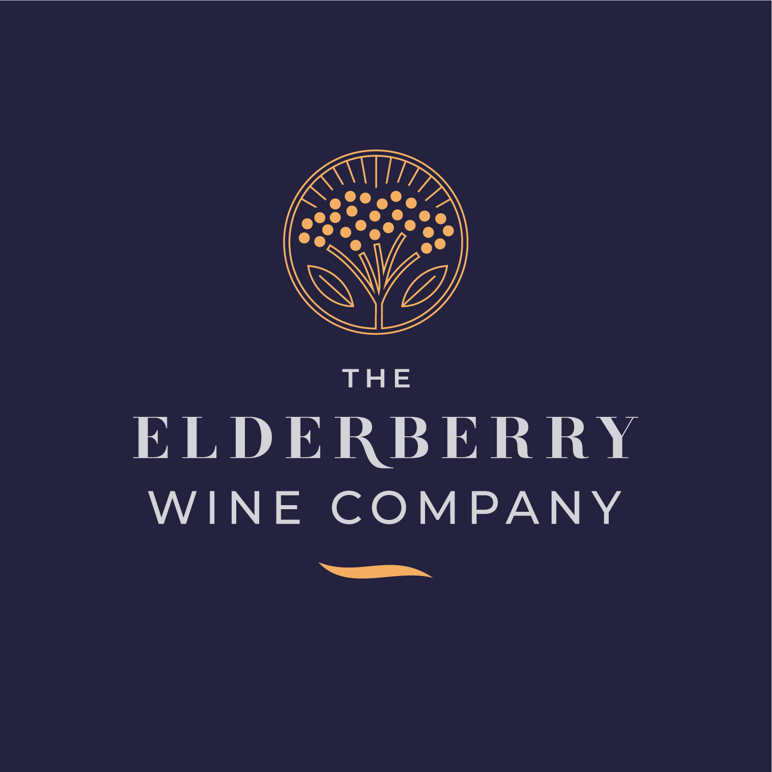 The signature mark featuring an elderberry seal
