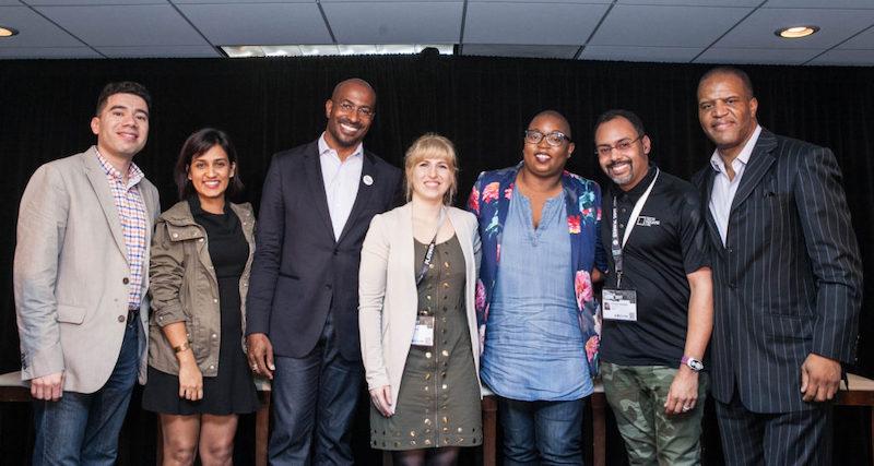 Photo of speakers at SXSW