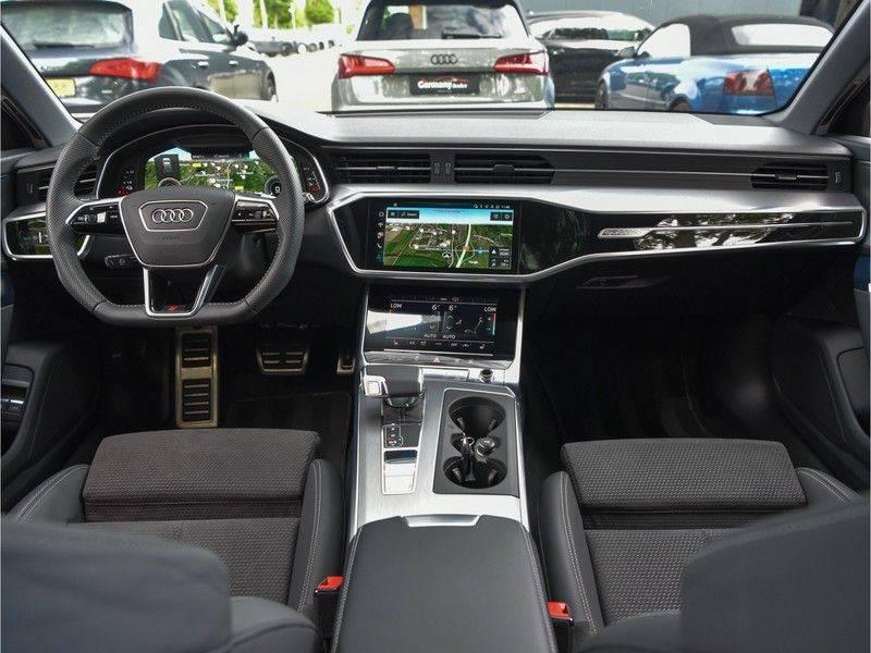 Audi A6 Avant 55TFSI 367pk S-Line Quattro Black Optic Navarra Pano Led Zetels Audi-Sound M-Led Priveglas afbeelding 19