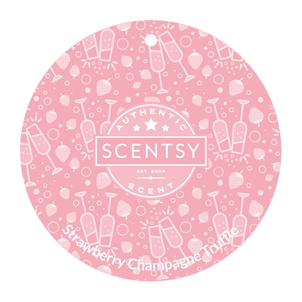 Picture of Strawberry Champagne Truffle Scent Circle