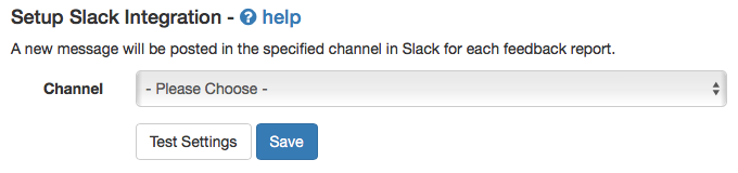 Slack Integration Stage 3