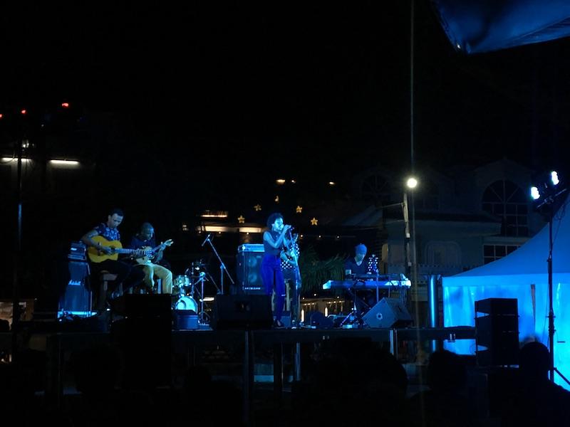 Live concert in Santa Maria, Sal