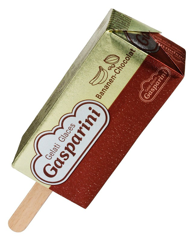 Gasparini Lutscher Bananen-Chocolat