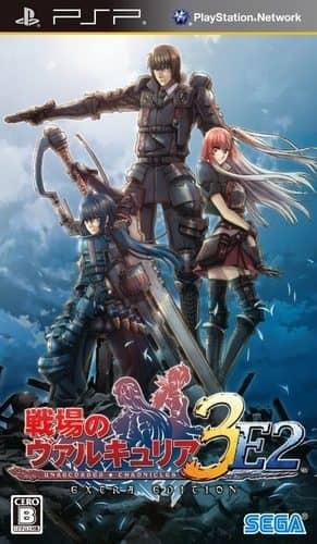 Coverart image of Senjou no Valkyria 3: Extra Edition psp