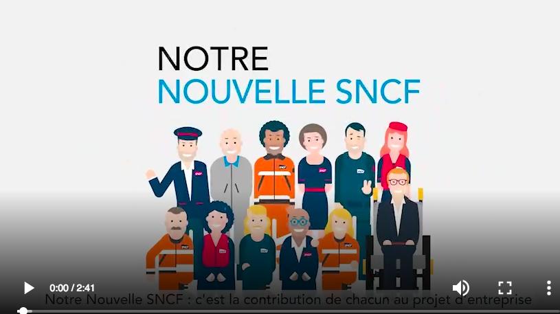 """Programme RH de """"Notre Nouvelle SNCF"""""""
