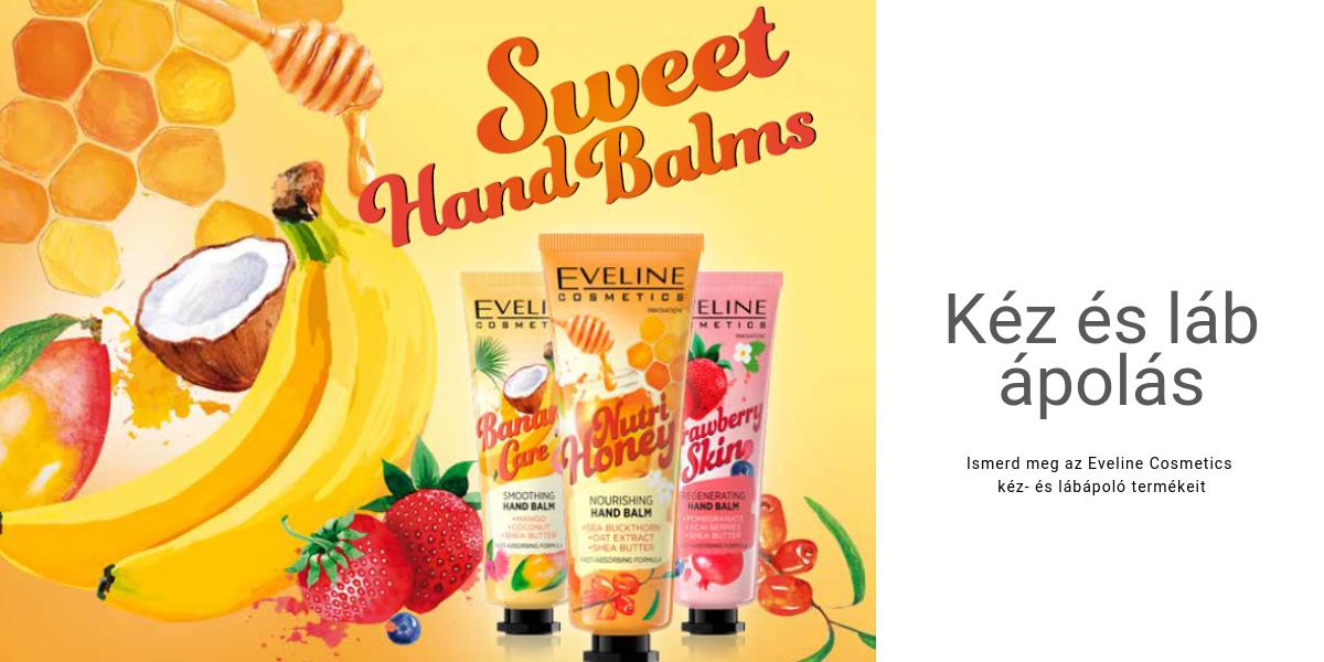 Eveline Cosmetics szem kéz- és lábápolás, Eveline kéz- és lábápolás