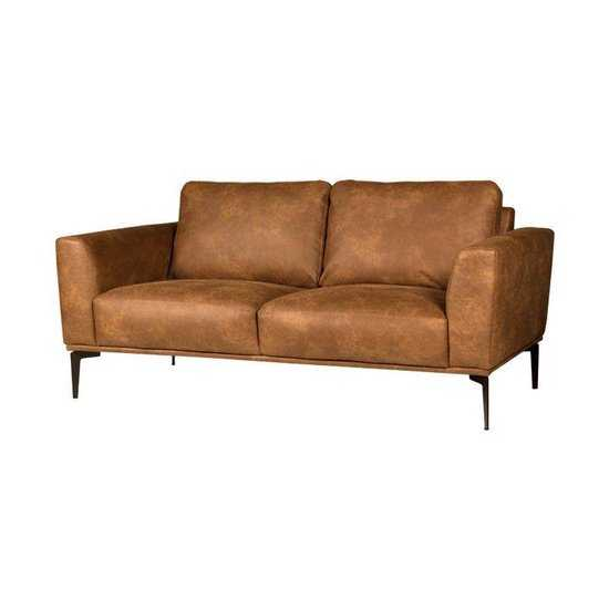 Homingxl Bank Tulp 2zits Leer Colorado Cognac 03 1 75 Mtr Breed 550x550 64 cm