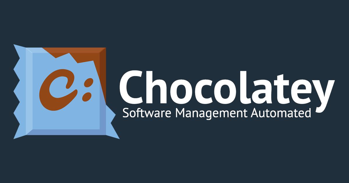 🍫 Make Windows Tasty with Chocolatey