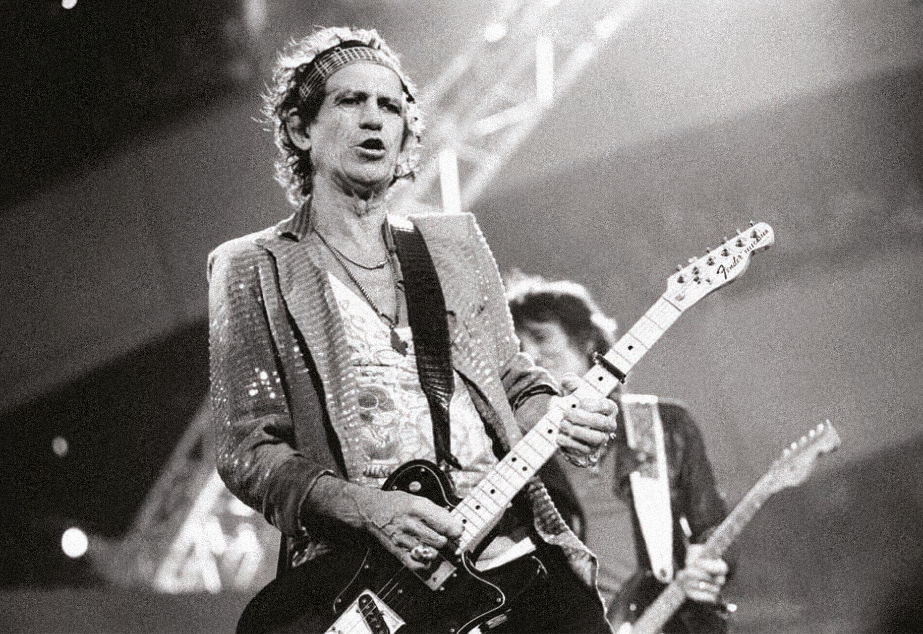 Кит Ричардс наконцерте The Rolling Stones вАмстердаме, 2006. Фото: Peter Pakvis / Getty Images