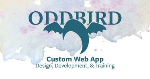 Early design concepts for OddBird's new site
