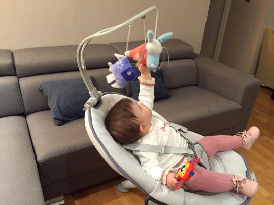 bebe hamaca alta