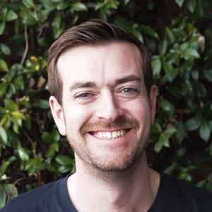 Photograph of Nick Binnington