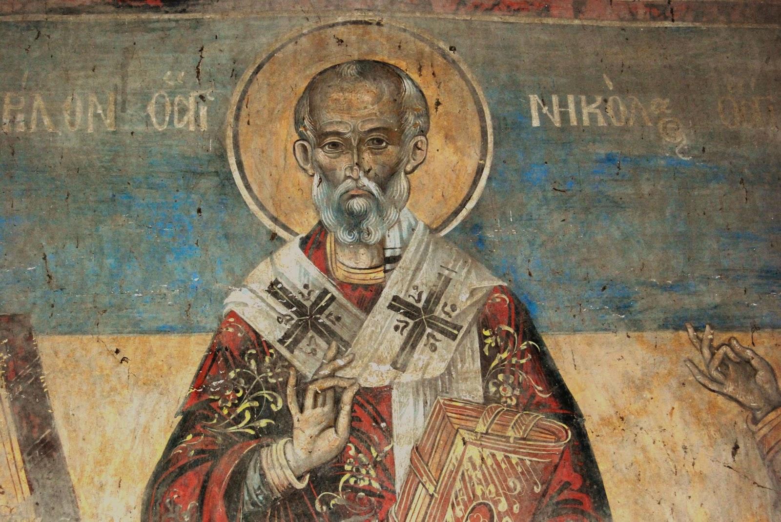 Saint Nicholas or Santa Claus