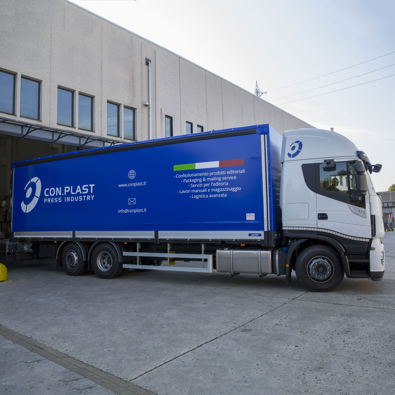 Con.Plast - servizio di consegna
