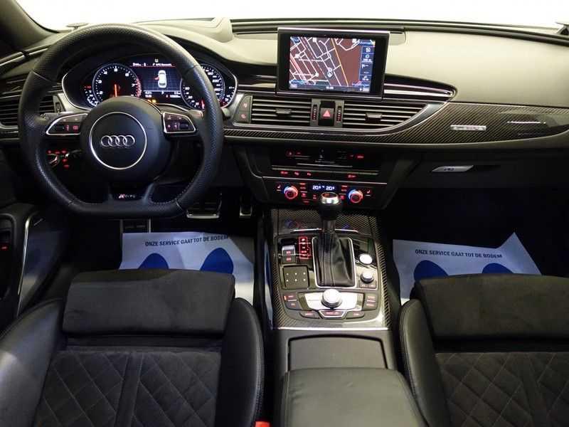 Audi A6 Avant 4.0 TFSI RS6 Quattro Performance 605pk Aut- B&O, Nightvision, Head-up, Orig NL Auto! afbeelding 5