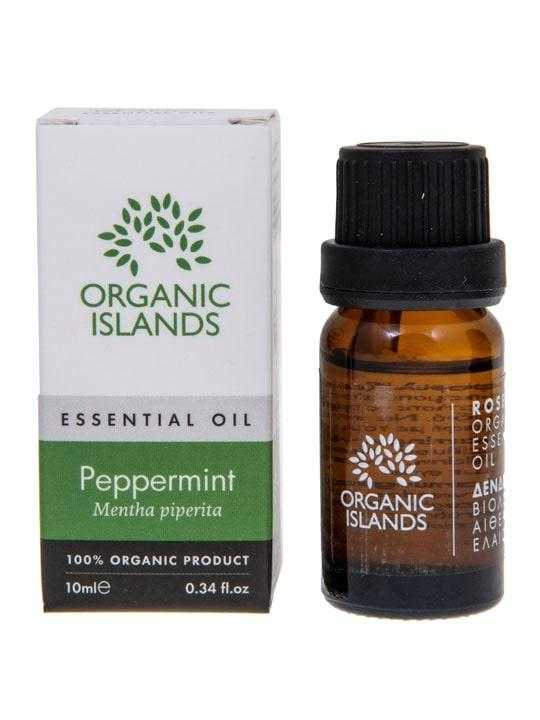Organic peppermint essential oil – 10ml
