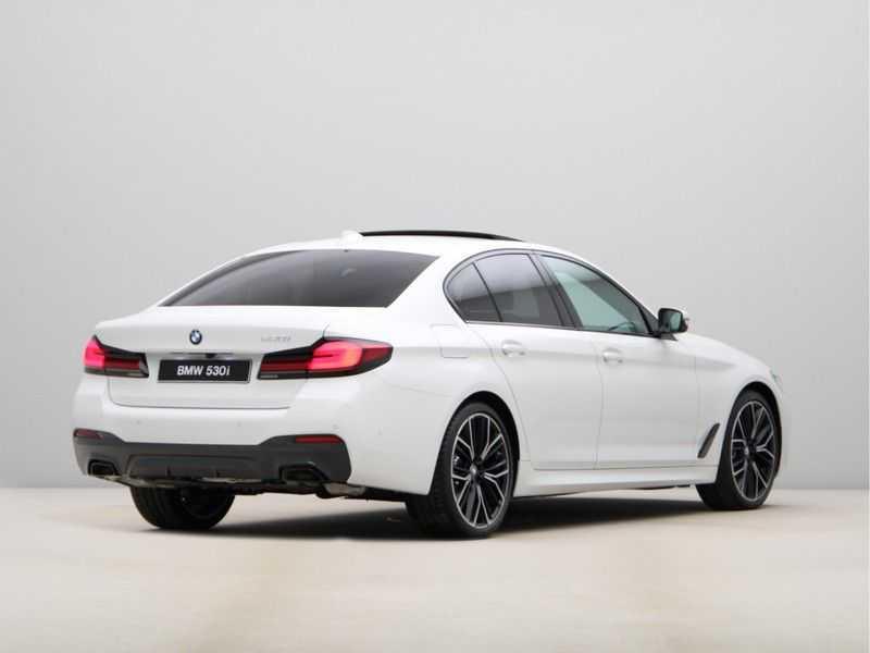 BMW 5 Serie 530i High Exe M-Sport LCI afbeelding 4