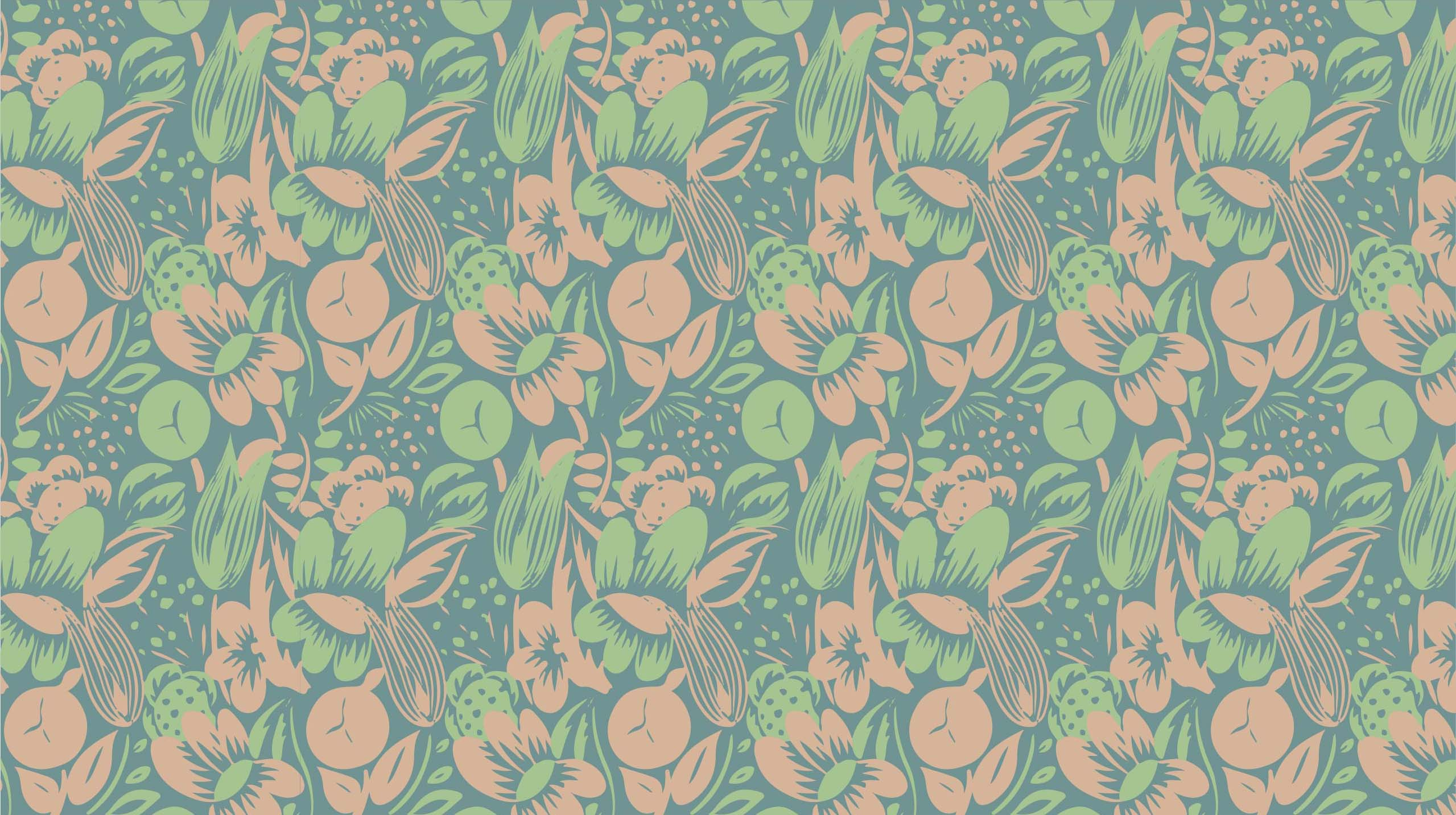 Recreation of pattern:Raoul Dufy - Floraison