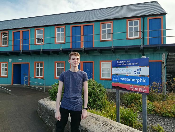Adam shares details about his work experience placement with Mesomorphic.