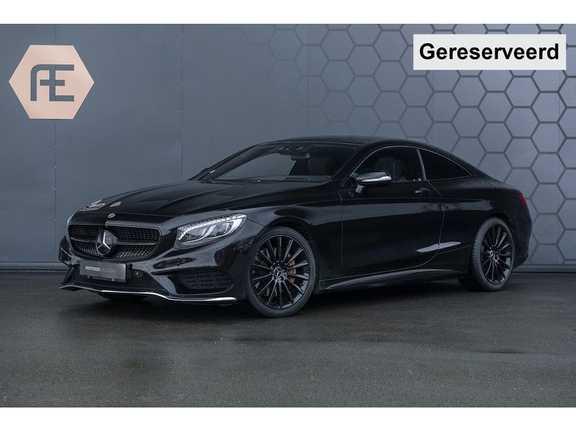 Mercedes-Benz S-Klasse Coupé 500 4Matic AMG S500 Swarovski + Burmester + Massage verwarmde/gekoelde stoelen + Stuurwielverwarming