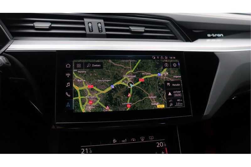 Audi e-tron 55 quattro Advanced S Line excl. BTW Panoramadak, B&O, S Sportstoelen, DAB, Head-Up Display afbeelding 11