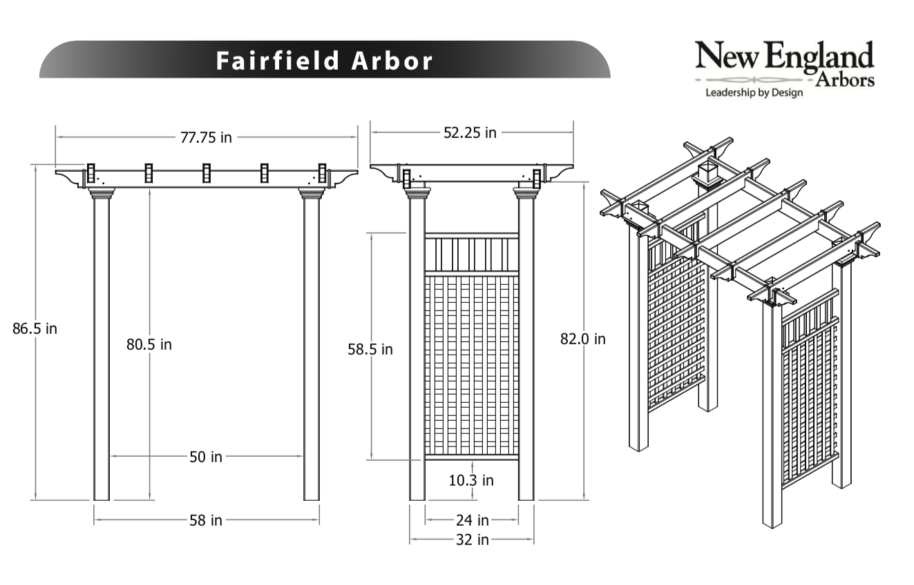 Fairfield Specifications