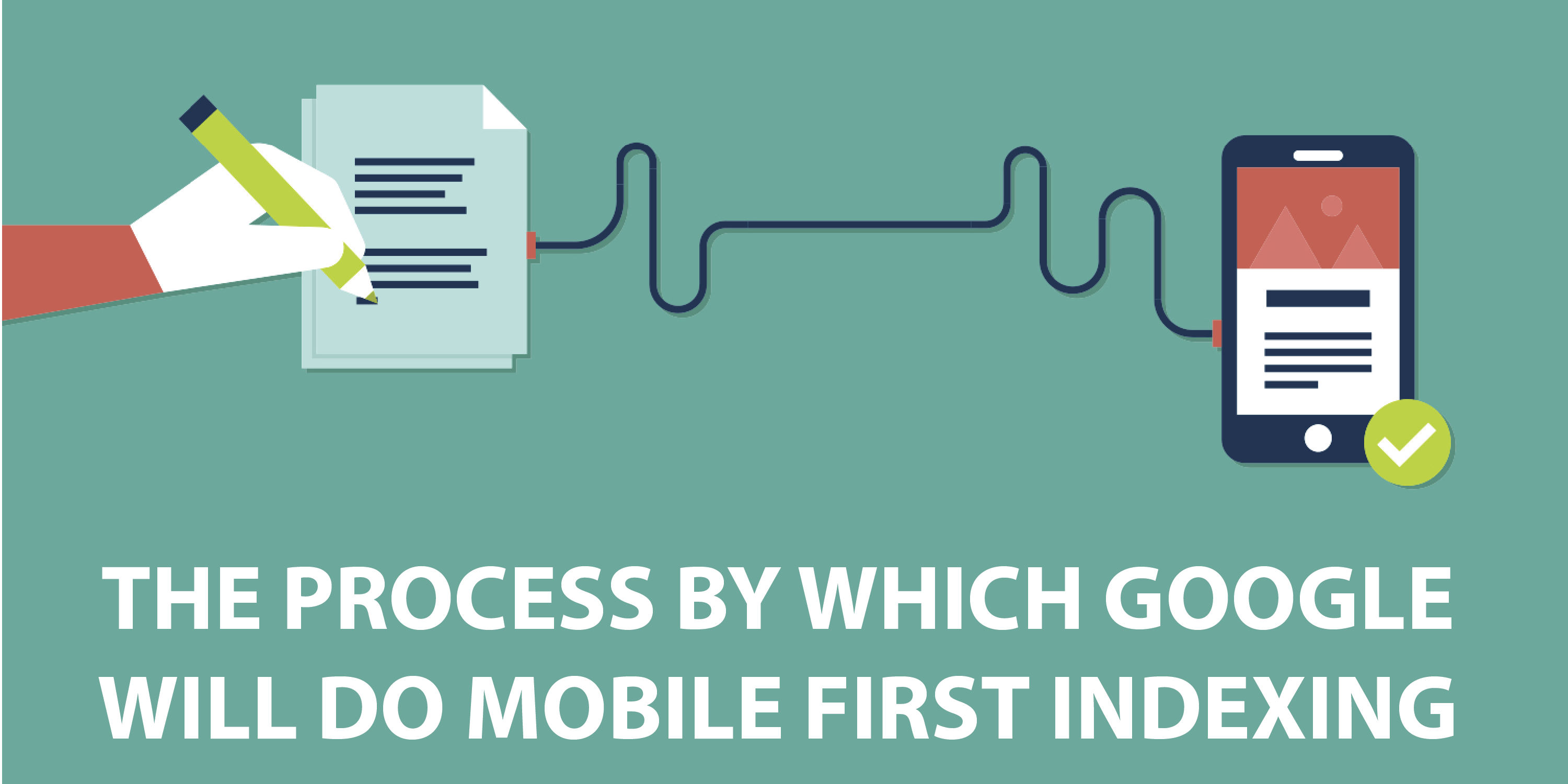 THE PROCESS BY WHICH GOOGLE WILL DO MOBILE FIRST INDEXING
