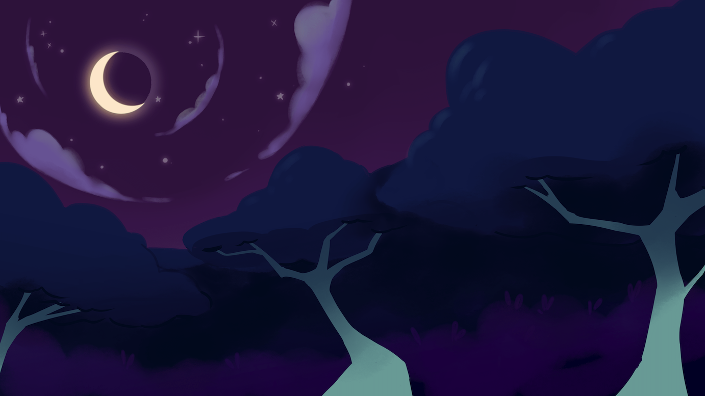 moonlit background