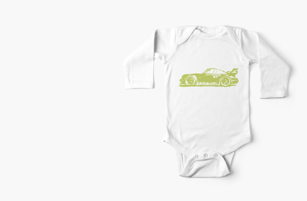 Long Sleeve Baby One-Pieces by thespeedart