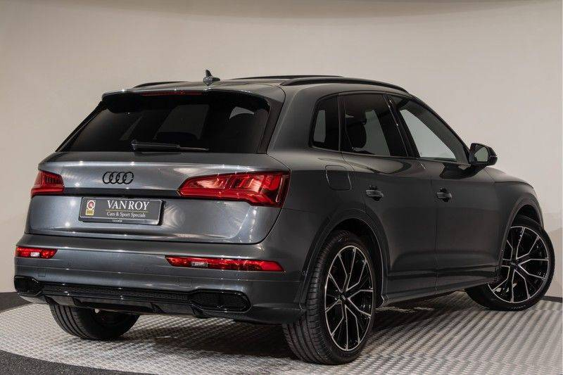 "Audi SQ5 3.0 TFSI 354pk Quattro Black Edition Panoramadak Luchtvering Valconaleder+Memory Carbon Matrix-Dynamisch Keyless Navi-High ACC DriveSelect  21""Performance 360Camera Pdc afbeelding 9"