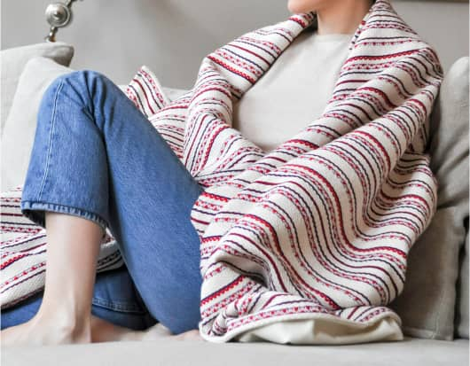 Création de plaid ou de couvre-lit par une couturière certifiée