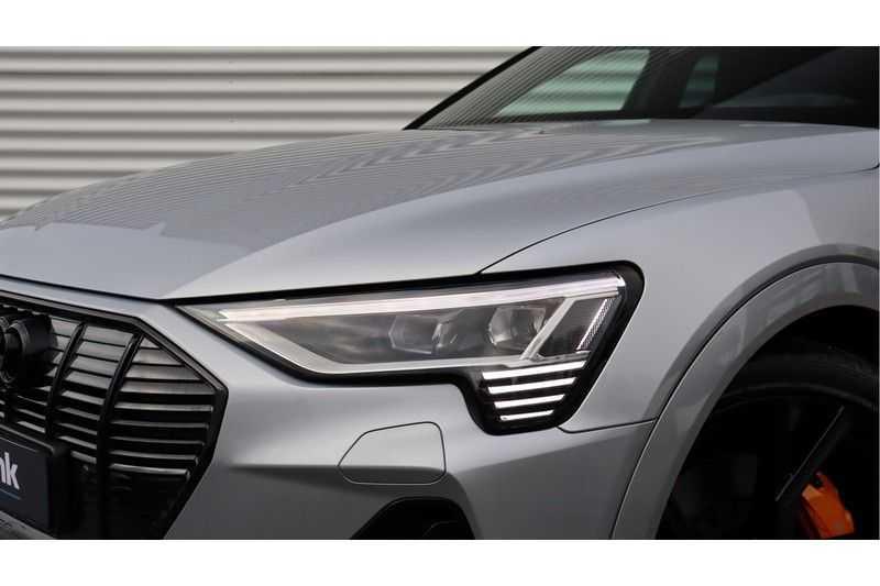 Audi e-tron Sportback 55 quattro S line excl. BTW Panoramadak, S Sportstoelen, Head Up display afbeelding 6