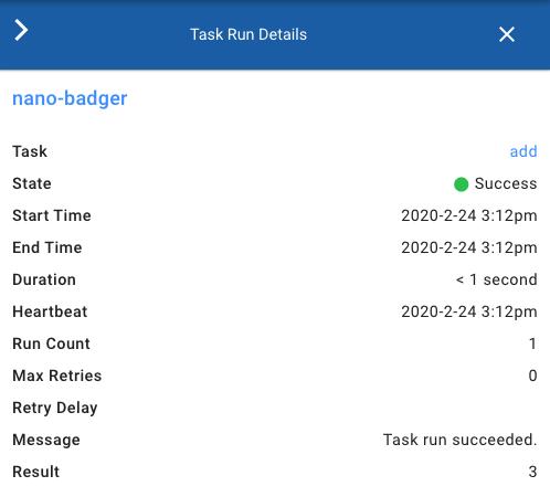 Task Detail with JSON Result.safe_value showing