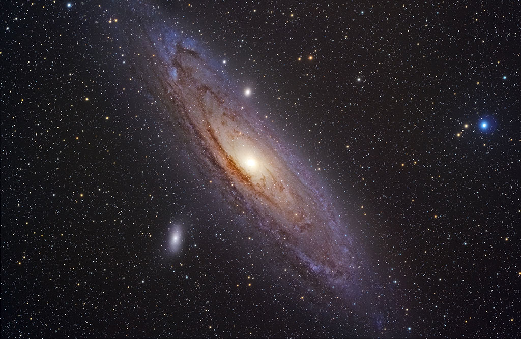 Which Galaxy is Visible to the Eye?