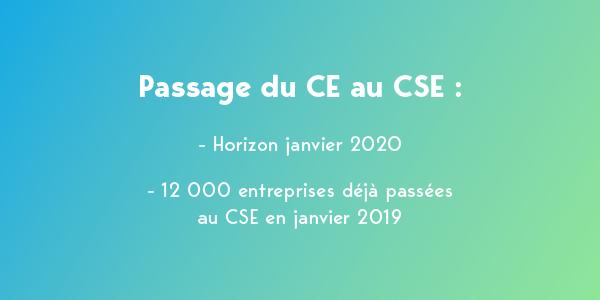 Passage du CE au CSE